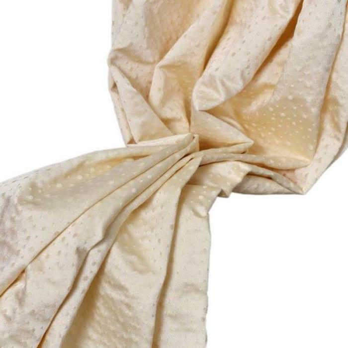 Material draperie Rosellini Plain Cream