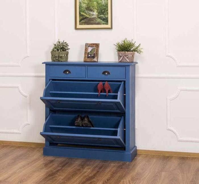 Pantofar cu două uşi şi două sertare Lewis