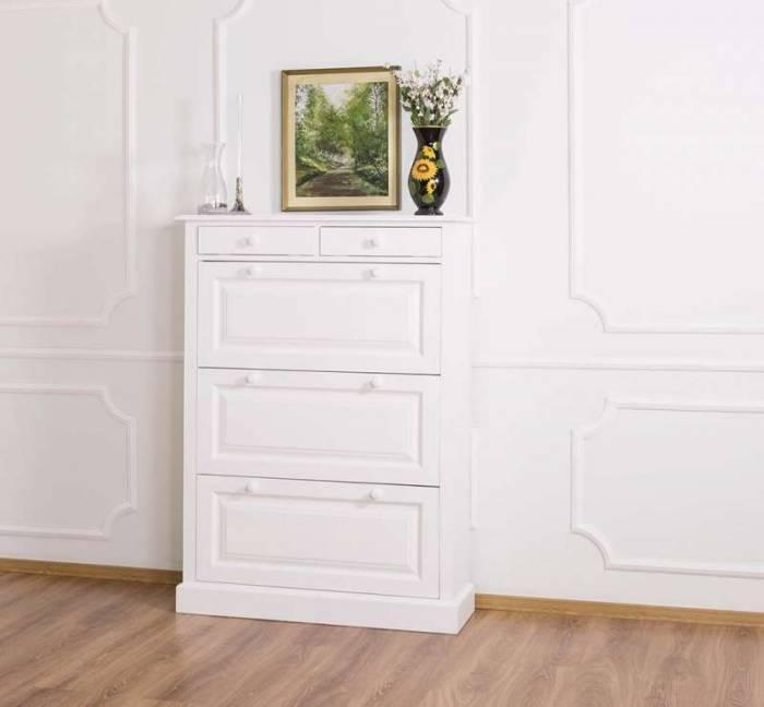 Pantofar cu trei uşi şi două sertare Lewis