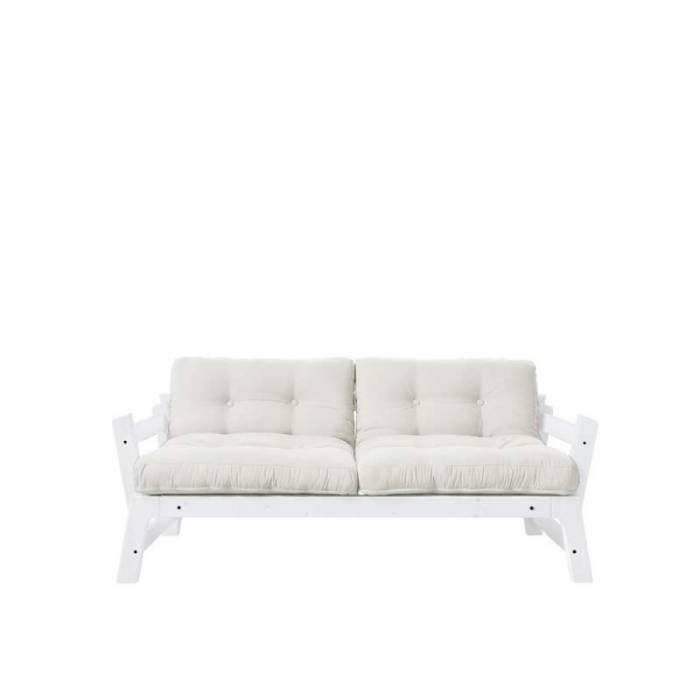 Pat canapea crem stil scandinav Step White
