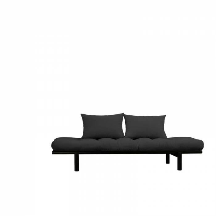 Pat canapea gri închis stil scandinav Pace Black