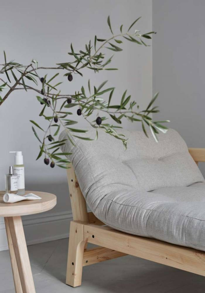 Pat canapea oliv stil scandinav Step Black