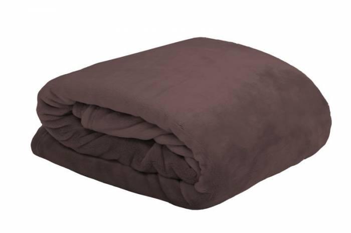 Pătură maro pufoasă 5792 130x160 cm