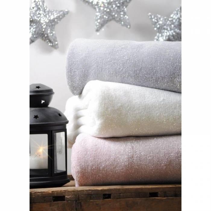Pătură roz lucioasă Shiny 130x160 cm