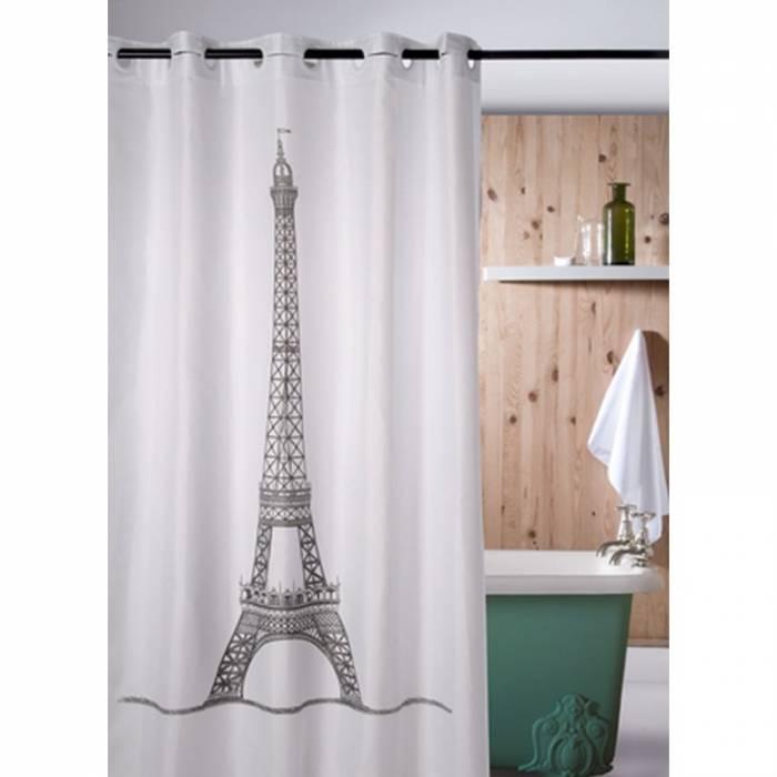 Perdea de duș albă Eiffel 218 180x200 cm
