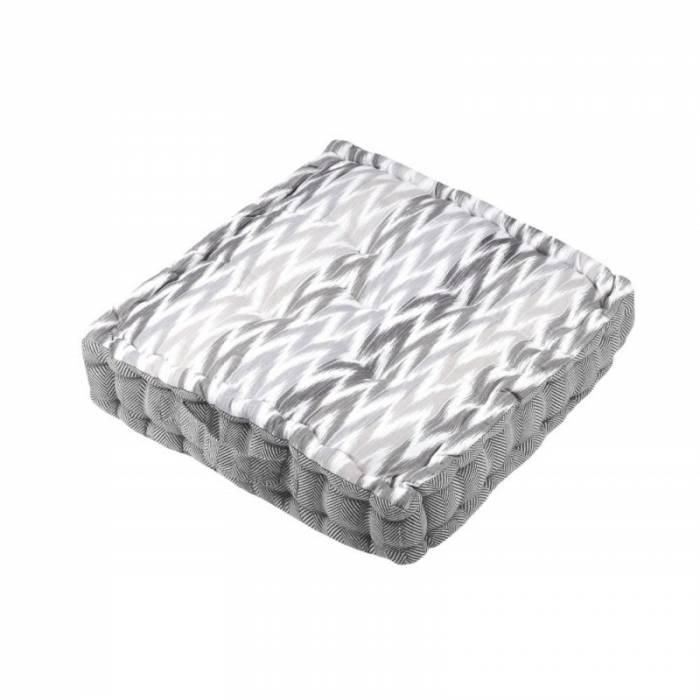 Pernă gri podea Ikati Gris 45x45x10 cm