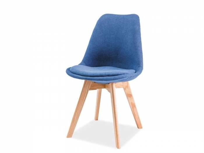 Scaun dining albastru Dior II
