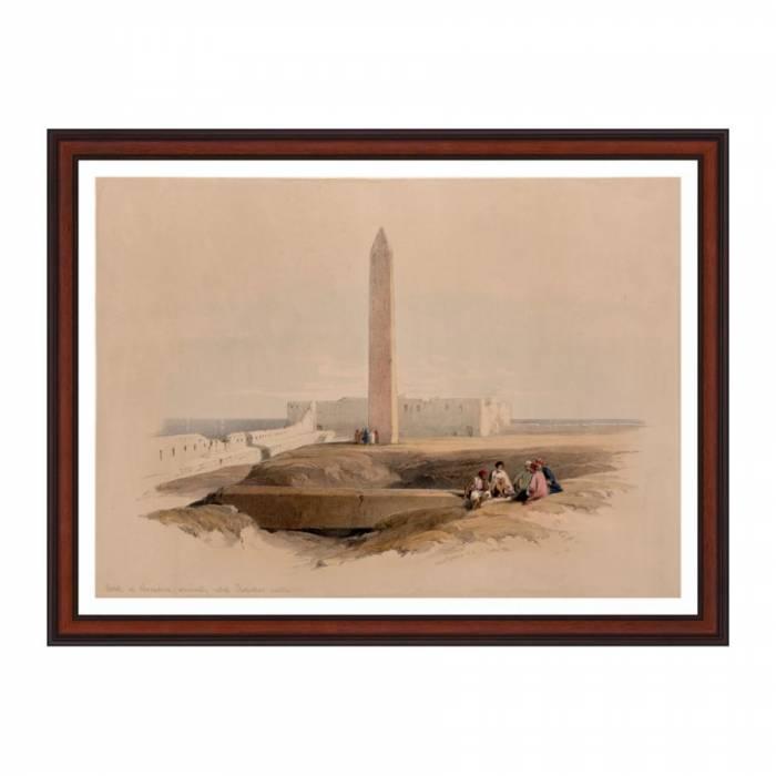Tablou - Obeliscul de la Alexandria
