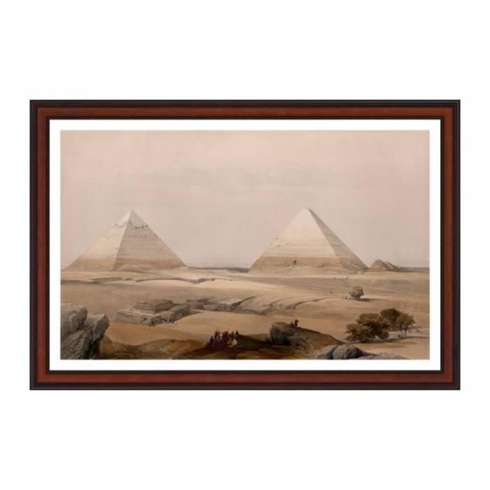 Tablou - Piramidele din Geezeh
