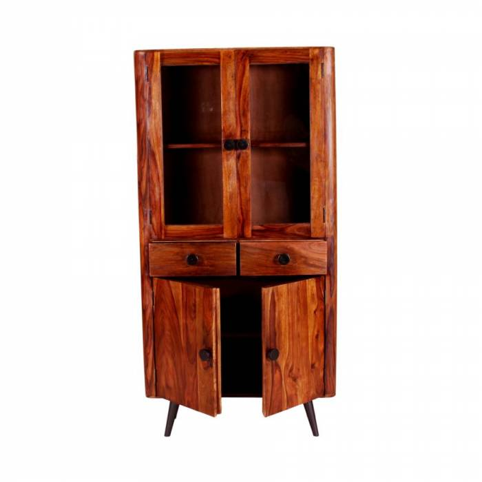 Vitrină din lemn de palisandru Shewa