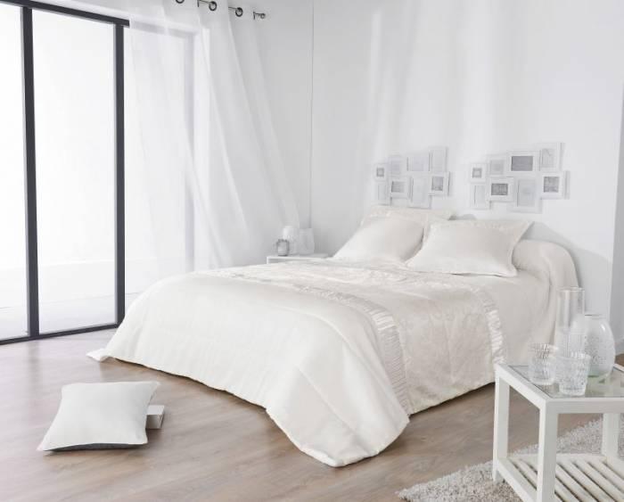 Cuvertură albă Venise 230x250 cm