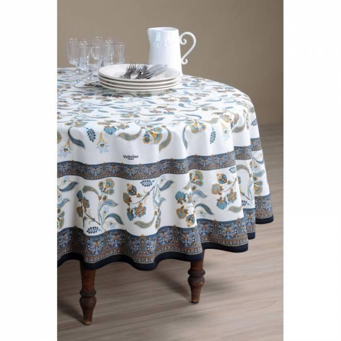 Față de masă dreptunghiulară elegantă Bastide Bleu 160x250 cm