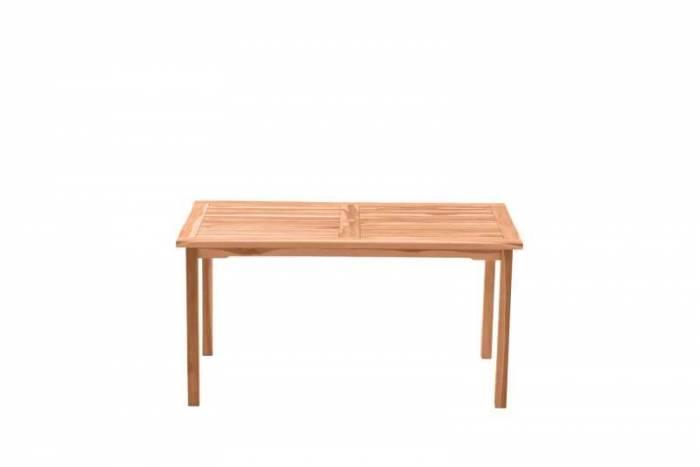 Masă de grădină Rickey, 75x150x90 cm, lemn, bej