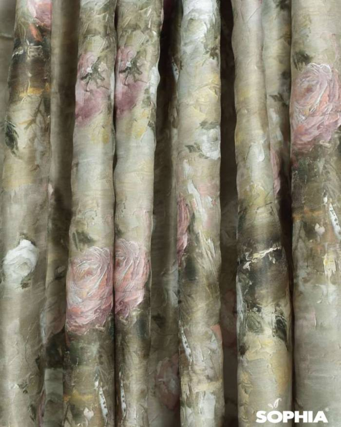 Material draperie Floral Paintings