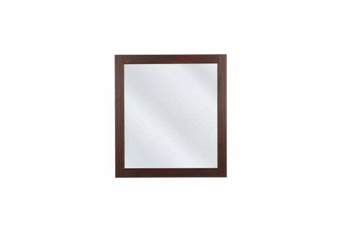 Oglindă maro Retro, 73x80x2 cm, lemn, maro