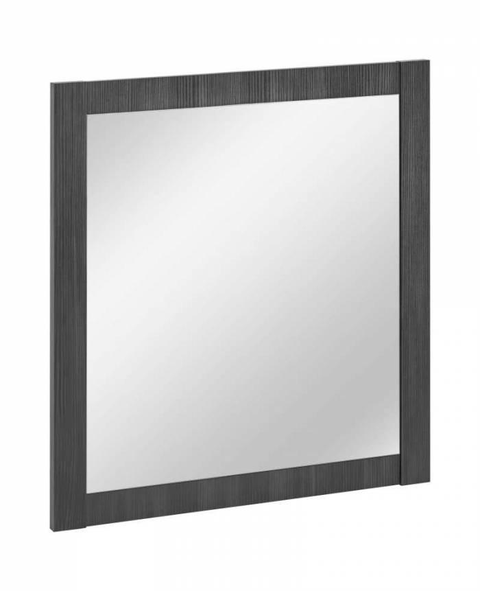 Oglindă pătrată Classic Grafit 80x80x2 cm, pal/ sticlă, gri