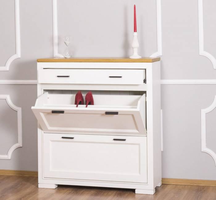 Pantofar cu două uşi şi sertar Sophia