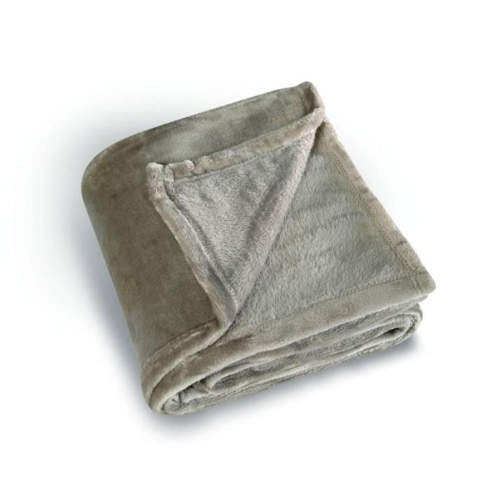 Pătură grej pufoasă Cocoon 130x180 cm