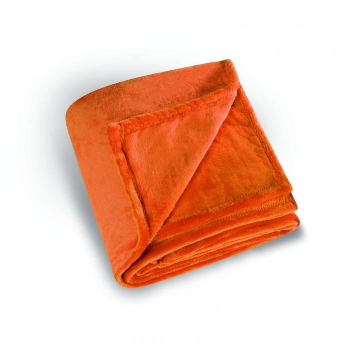 Pătură portocalie Cocoon 130x180 cm