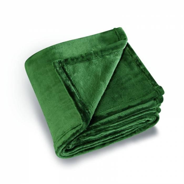 Pătura verde pufoasă Cocoon 130x180 cm