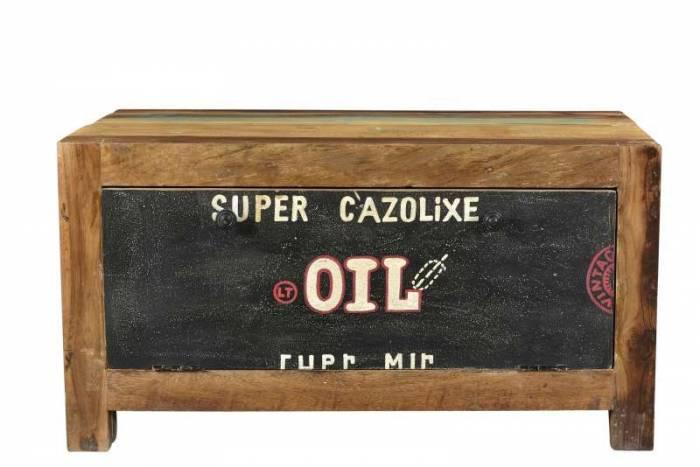 Bază cuier Speedway, 45x40x85 cm, lemn, multicolor