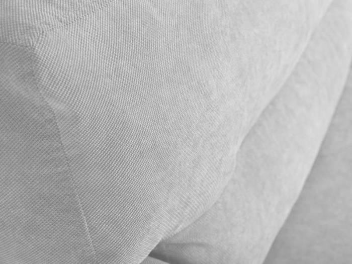 Canapea extensibilă cu spațiu de depozitare Brisbane, 3 locuri, argintiu, 231x98x95 cm