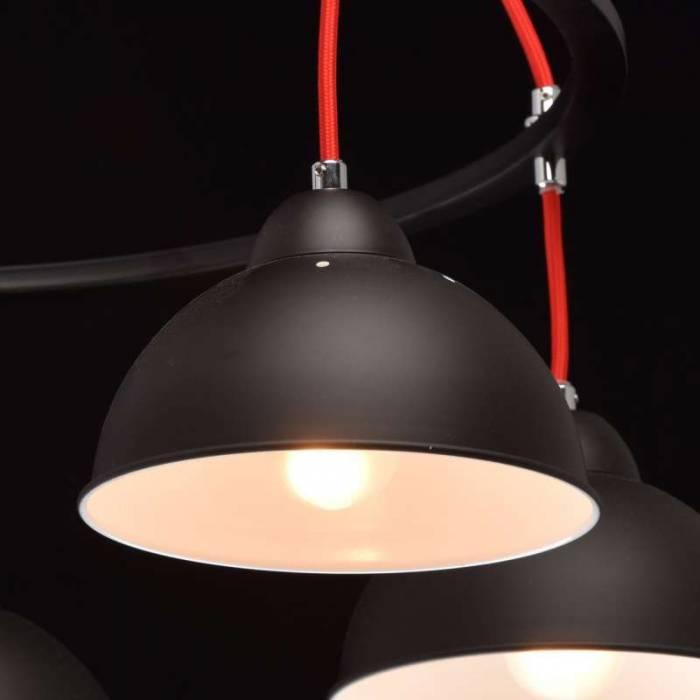 Candelabru negru contemporan Livonia