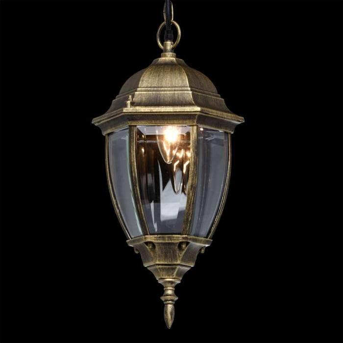 Lustră de exterior Almeda, 102x18x21 cm, aluminiu/ sticla, negru