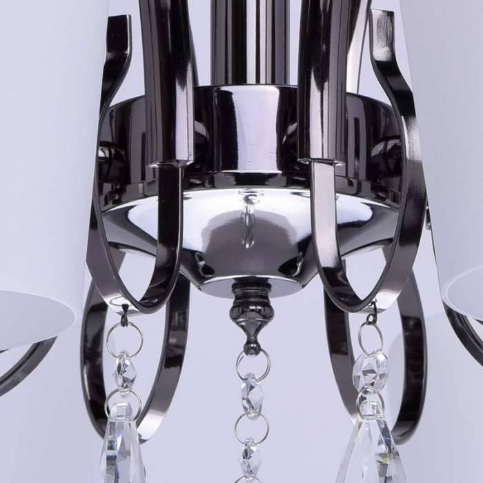 Lustră metalică Delta cu 8 abajururi