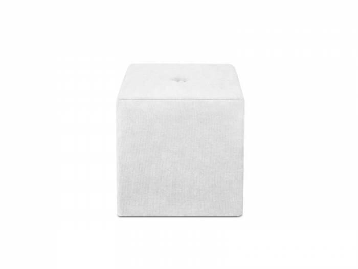 Puf Bounce, argintiu, 40x40x45 cm