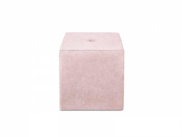 Puf Bounce, roz, 40x40x45 cm