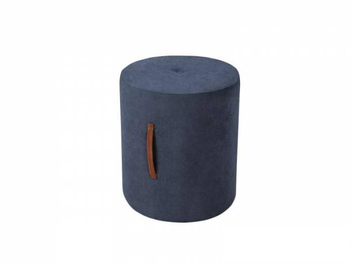 Puf Motion, albastru, 40x40x45 cm