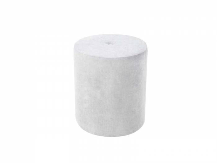 Puf Motion, argintiu, 40x40x45 cm