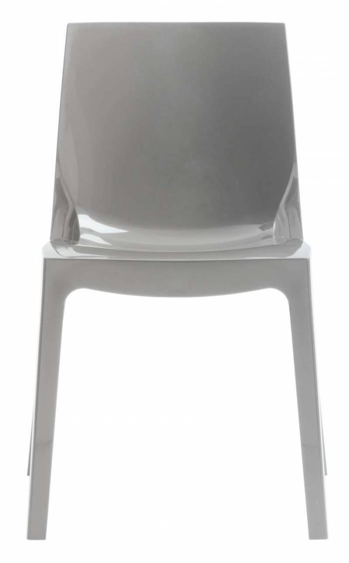 Scaun de dining Studio 60, plastic, gri