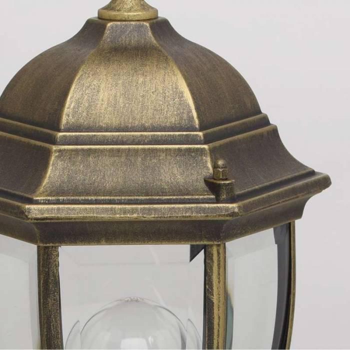 Stâlp de iluminat exterior negru Addie, 50x21x21 cm, aluminiu, negru