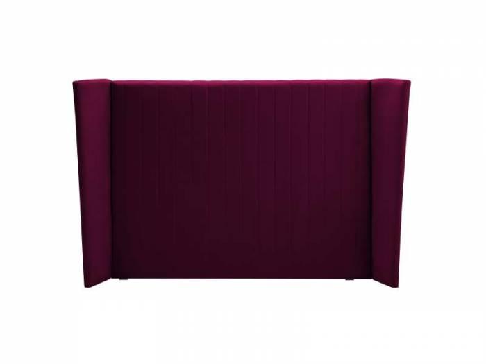 Tăblie de pat Vegas, grena, 244(200)x20x120 cm