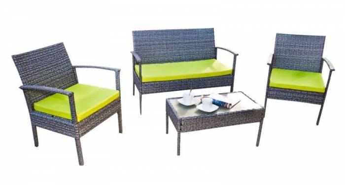 Set mobilier din ratan pentru grădină Perfetto