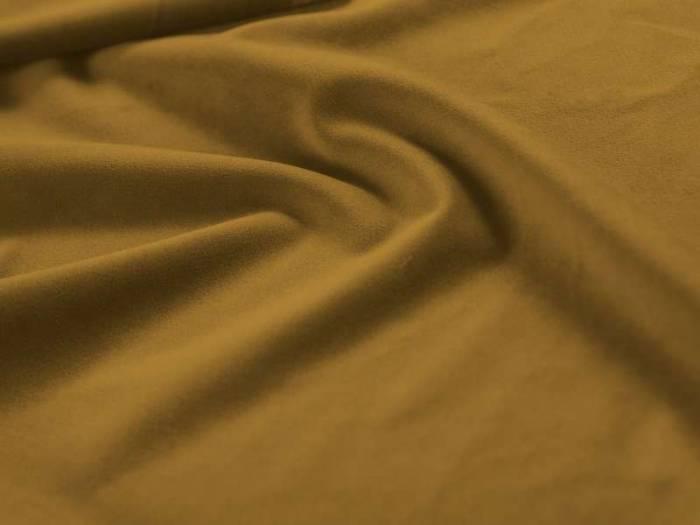 Taburet catifea Maddie , 47x65x65 cm, catifea/ metal/ lemn de pin/ pal/ placaj, auriu