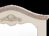 Oglindă de perete Adelaida, 85x60x4 cm, lemn de plop/ mdf, crem/ maro deschis