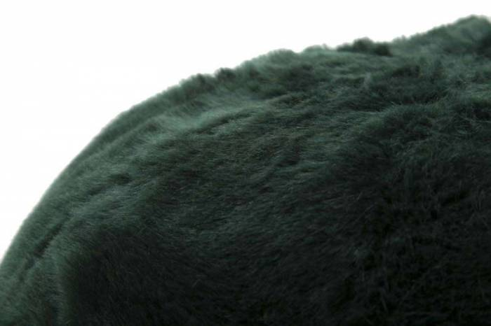 Puf Jeromy, 30x50x50 cm, poliester/ polistiren, verde
