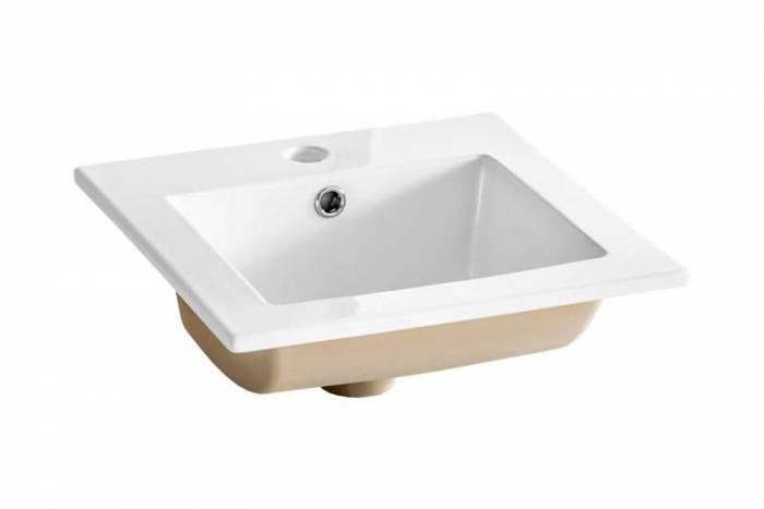 Lavoar Komodus 42x42x17 cm, ceramică, alb