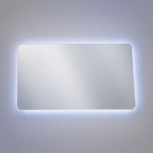 Oglindă de baie cu ramă LED Aruba 80x50x3 cm
