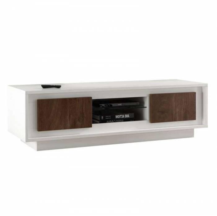 Comodă TV Frame, 45x50x156 cm, melamină, maro