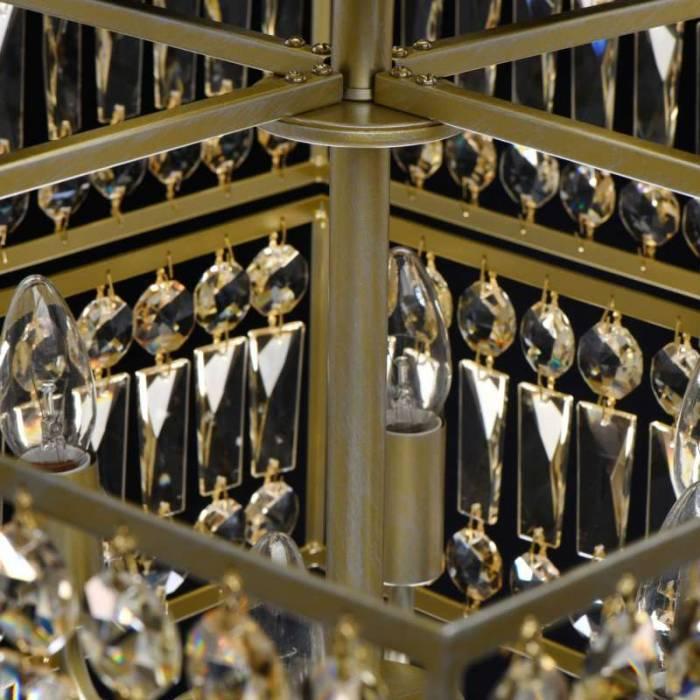 Candelabru cu cristale Tonia Gold