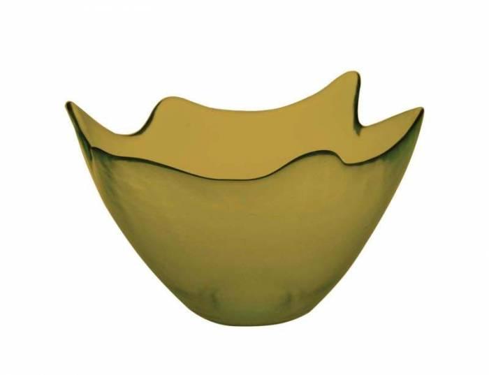 Bol Vetro, 18x30x30 cm, sticla, verde